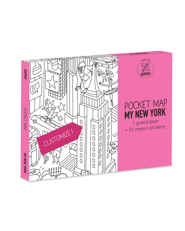 Little omy play New York Pocket Map
