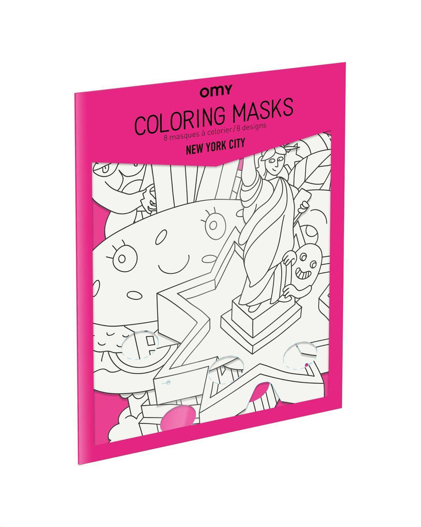 Little omy play NYC Coloring Masks