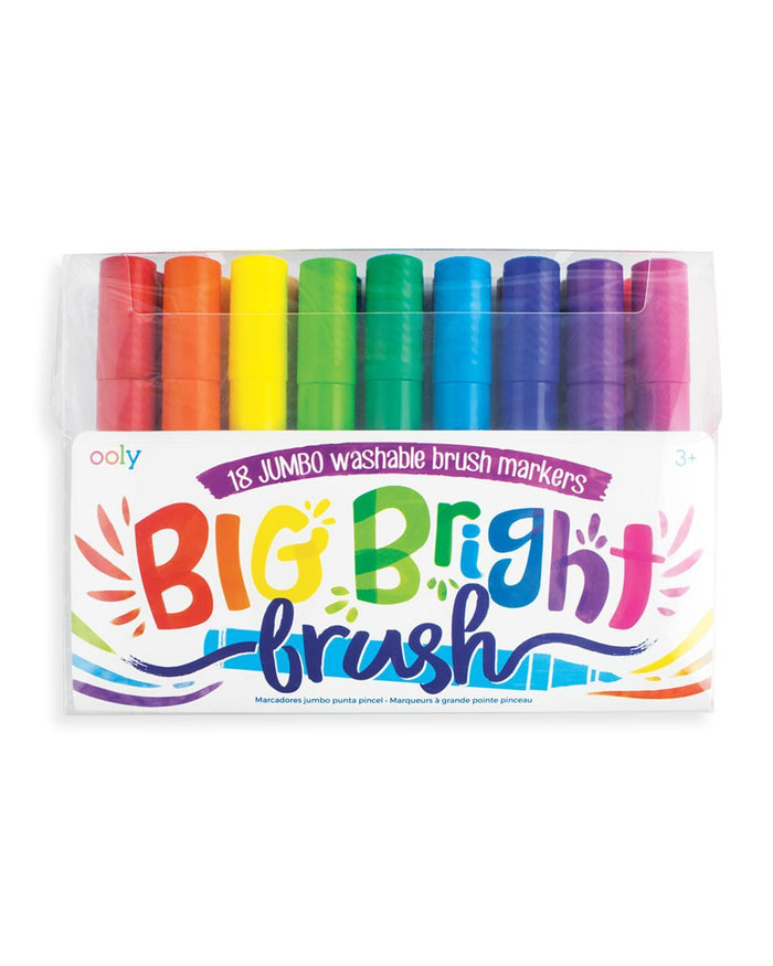 Little ooly play big bright brush markers