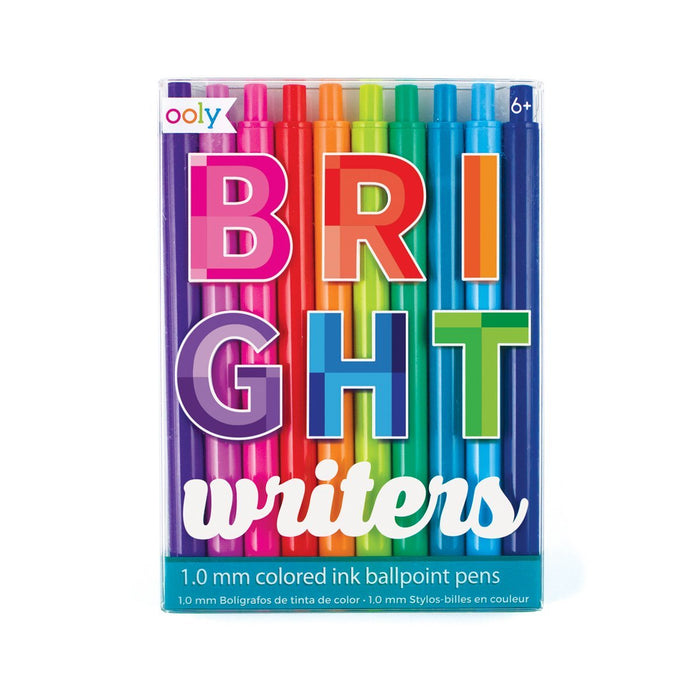 Little ooly play bright writers colored pens