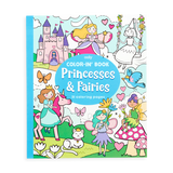 Little ooly play Color-in' Book: Princesses and Fairies