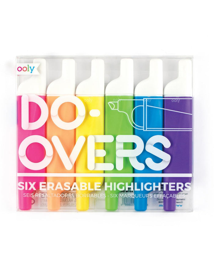 Little ooly play Do-Overs Erasable Highlighters