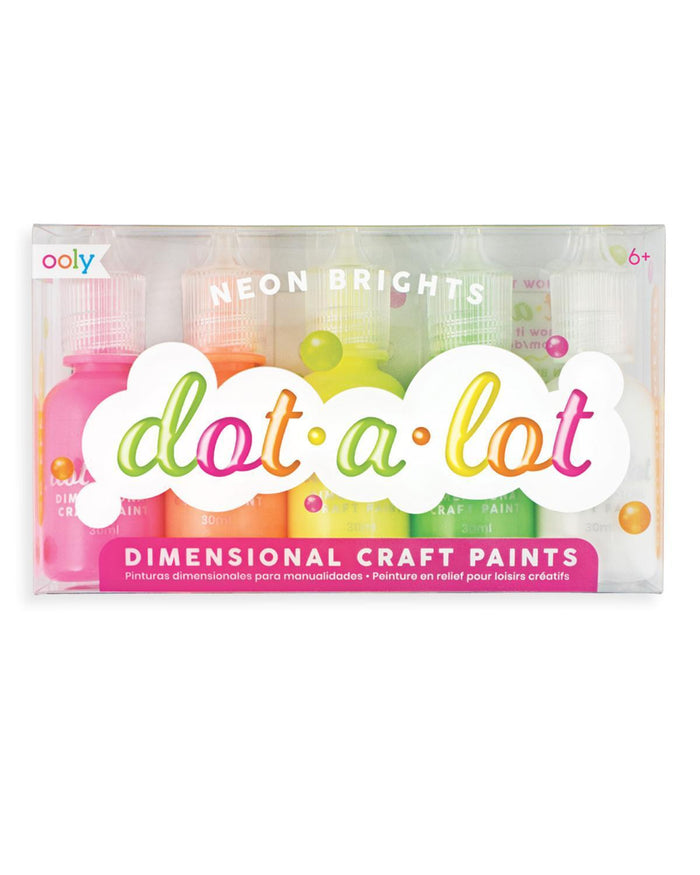 Little ooly play dot-a-lot neon brights paint