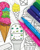 Little ooly play Double Dip Ice Cream Scented Markers