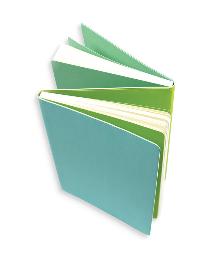 Little ooly play Flipside Double Sided Notebook in Teal