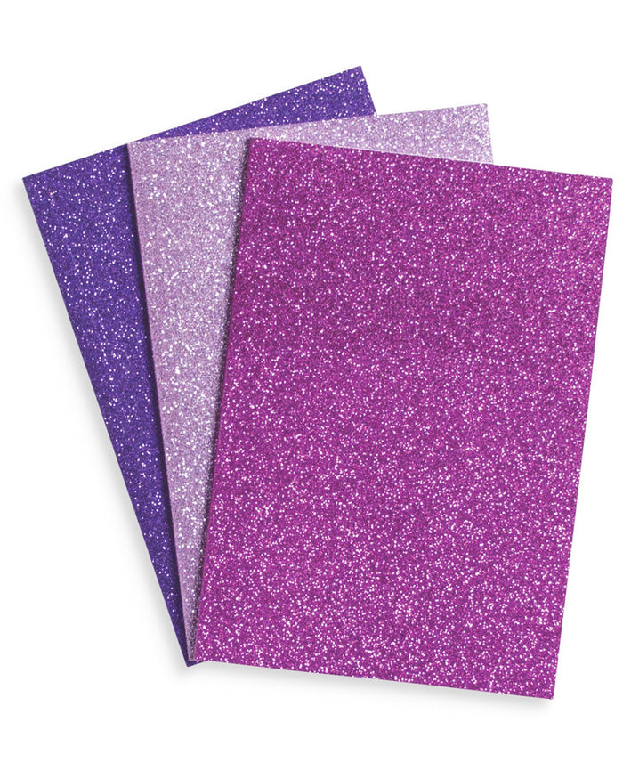Little ooly paper+party Glamtastic Notebook Set in Amethyst + Rhodalite