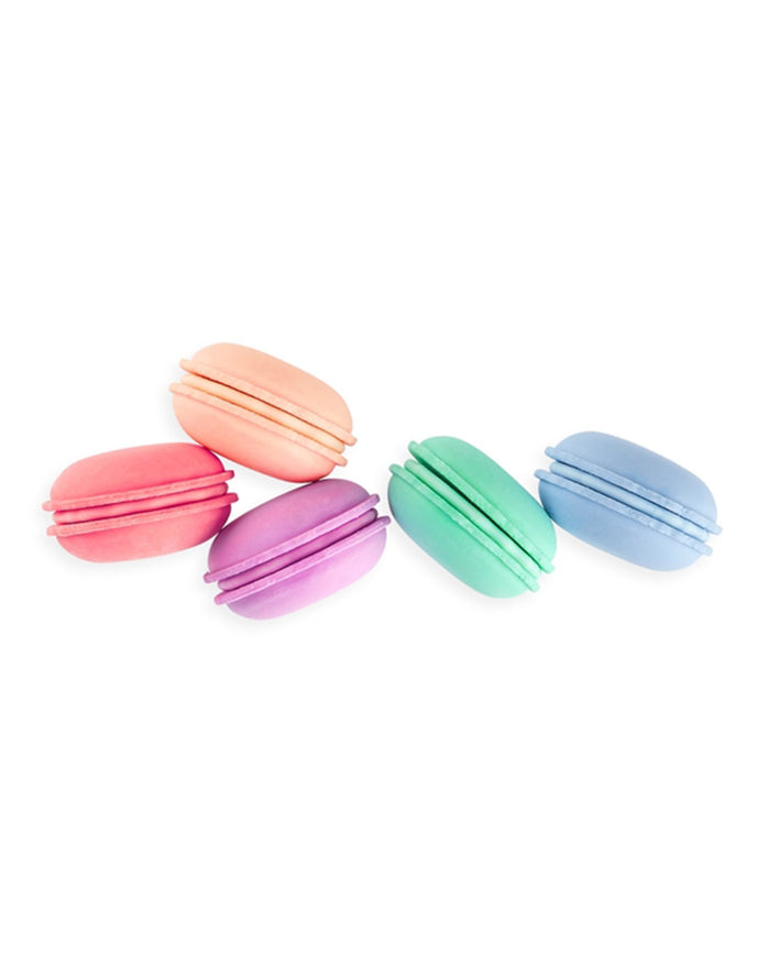 Little ooly play le macaron patisserie scented erasers