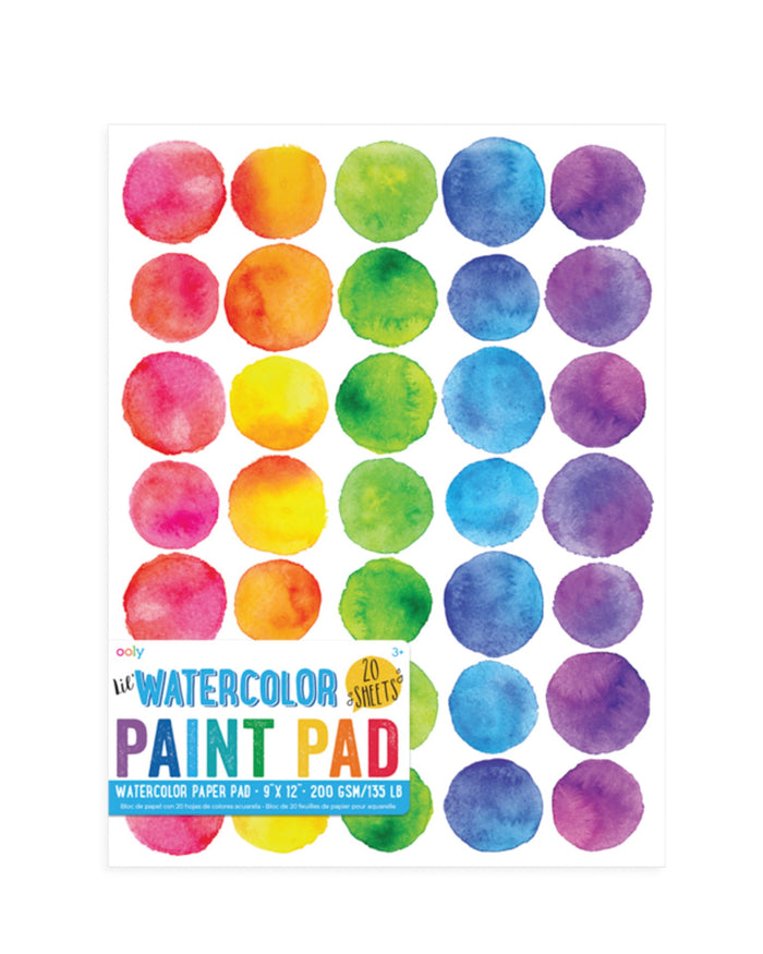 Little ooly play lil' watercolor paint pad