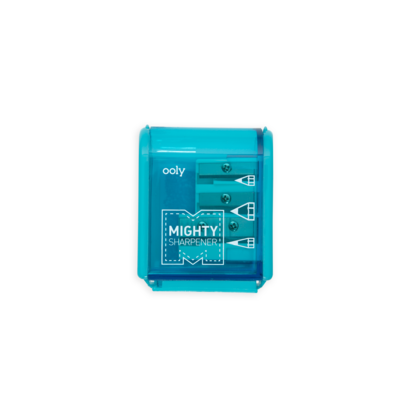 Little ooly play mighty pencil sharpener in teal