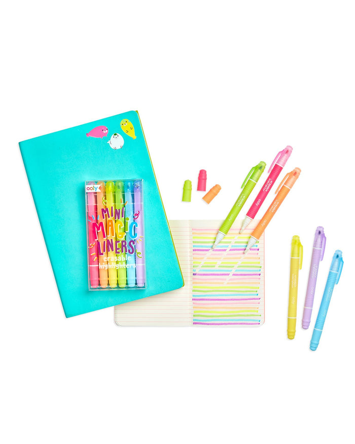 Little ooly play mini magic erasable highlighters