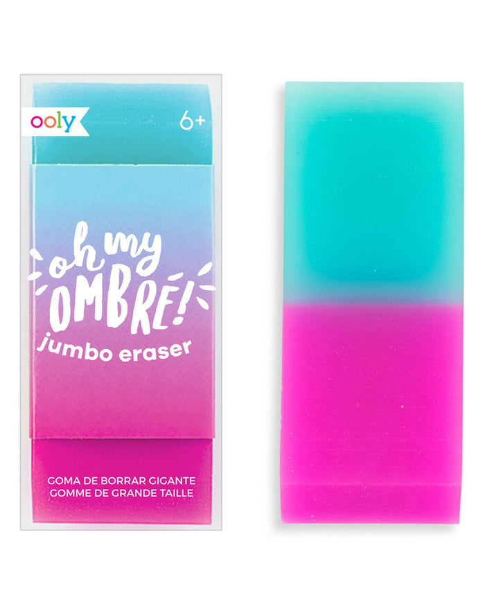 Little ooly play oh my glitter! mint jumbo eraser
