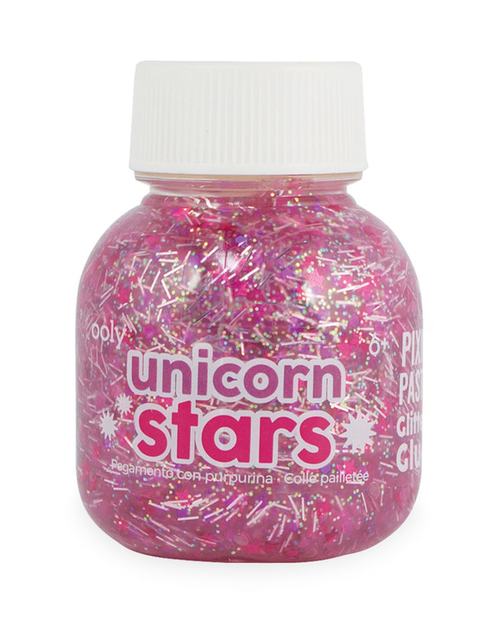 Little ooly play pixie paste brush-on glitter glue in unicorn stars