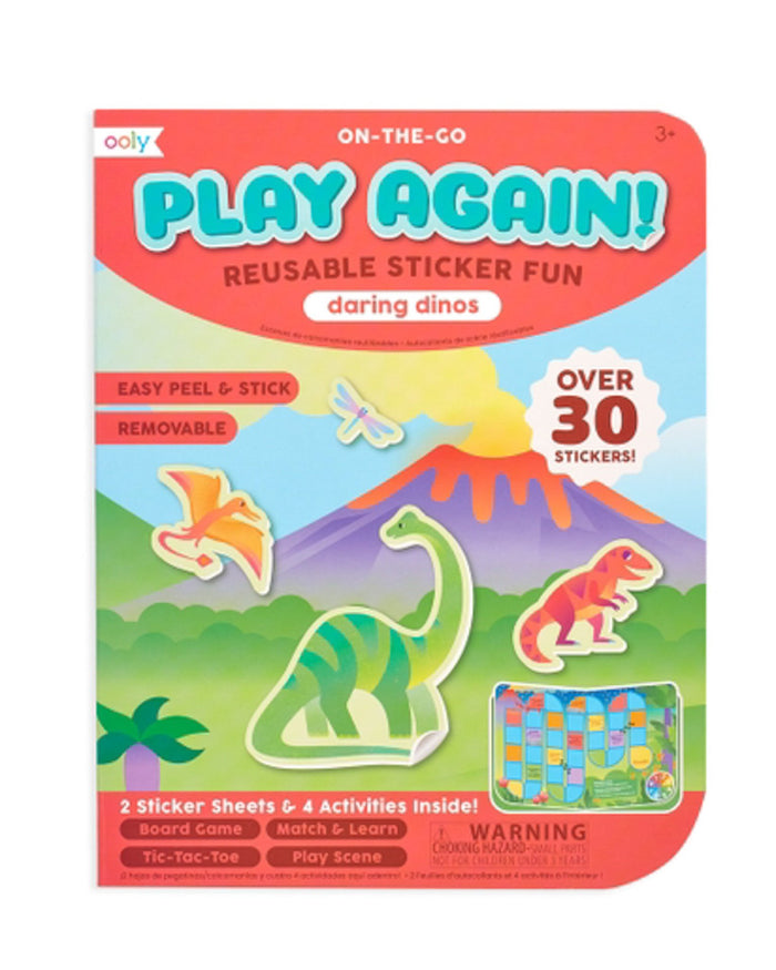 Little ooly play play again! mini activity kit - daring dinos