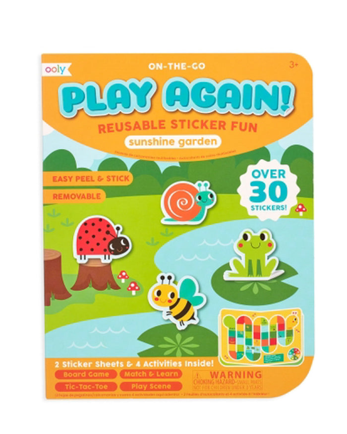 Little ooly play play again! mini activity kit - sunshine garden