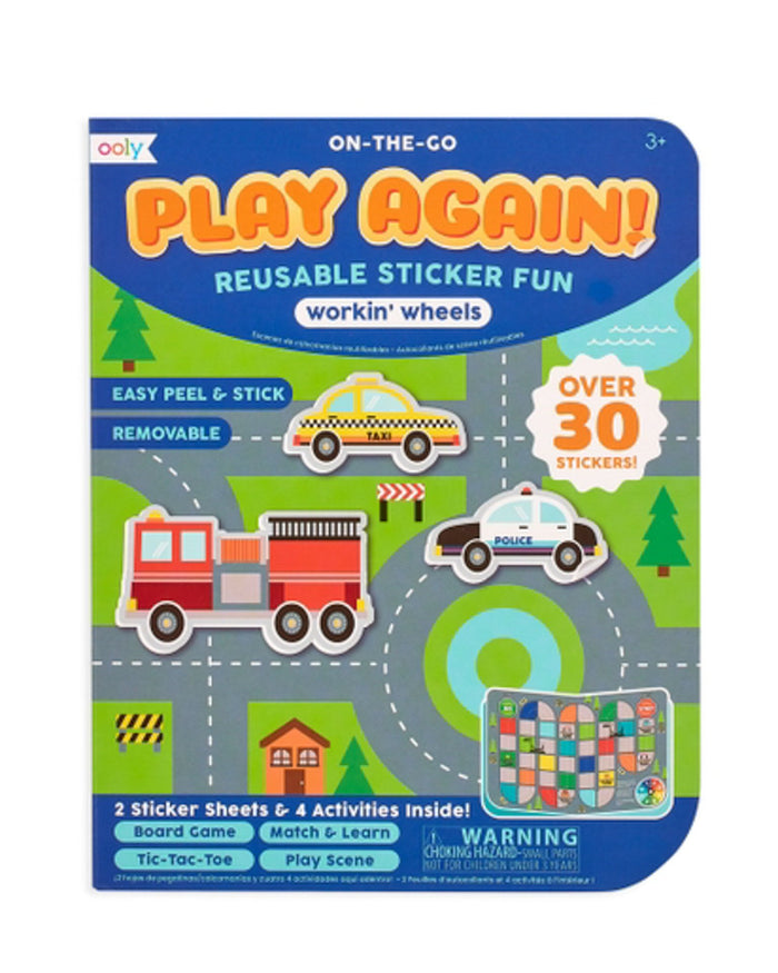 Little ooly play play again! mini activity kit - working wheels