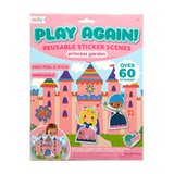 Little ooly play Play Again! Reusable Sticker Scenes - Princess Garden