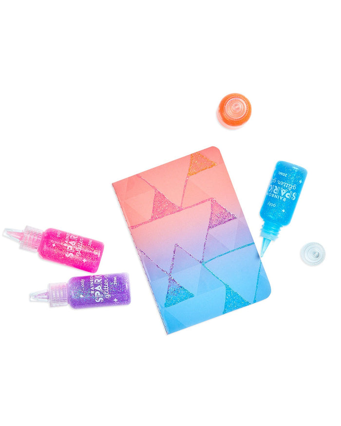Little ooly play rainbow sparkle glitter glue