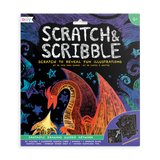 Little ooly play Scratch & Scribble - Fantastic Dragons - 10 Piece Set