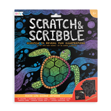 Little ooly play Scratch & Scribble - Ocean Life - 10 Piece Set