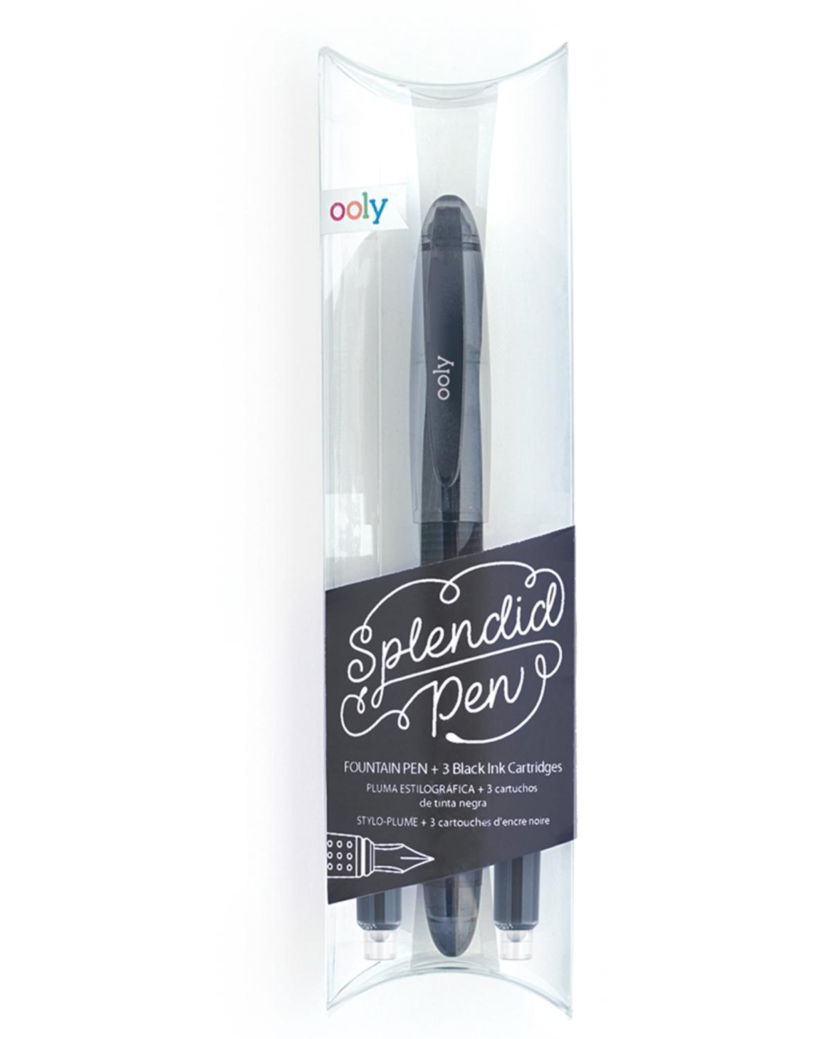 Little ooly play Spendid Fountain Pen in Black