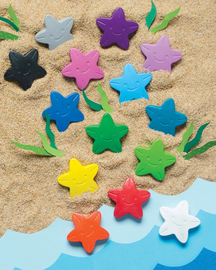 Little ooly play Starfish Crayons