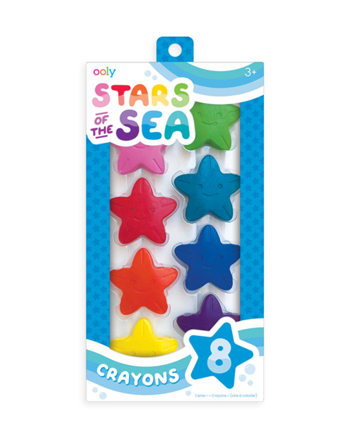 Little ooly play stars of the sea crayons