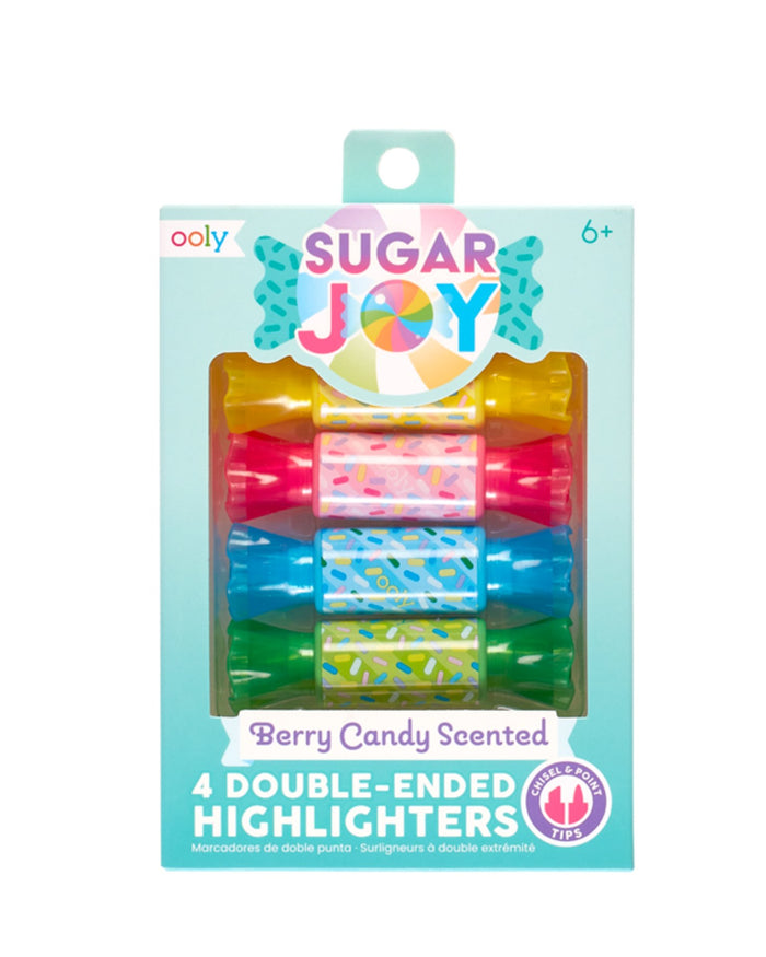 Little ooly play sugar joy scented double-ended highlighter