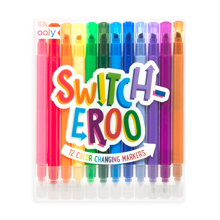Little ooly play switch-eroo! color changing markers