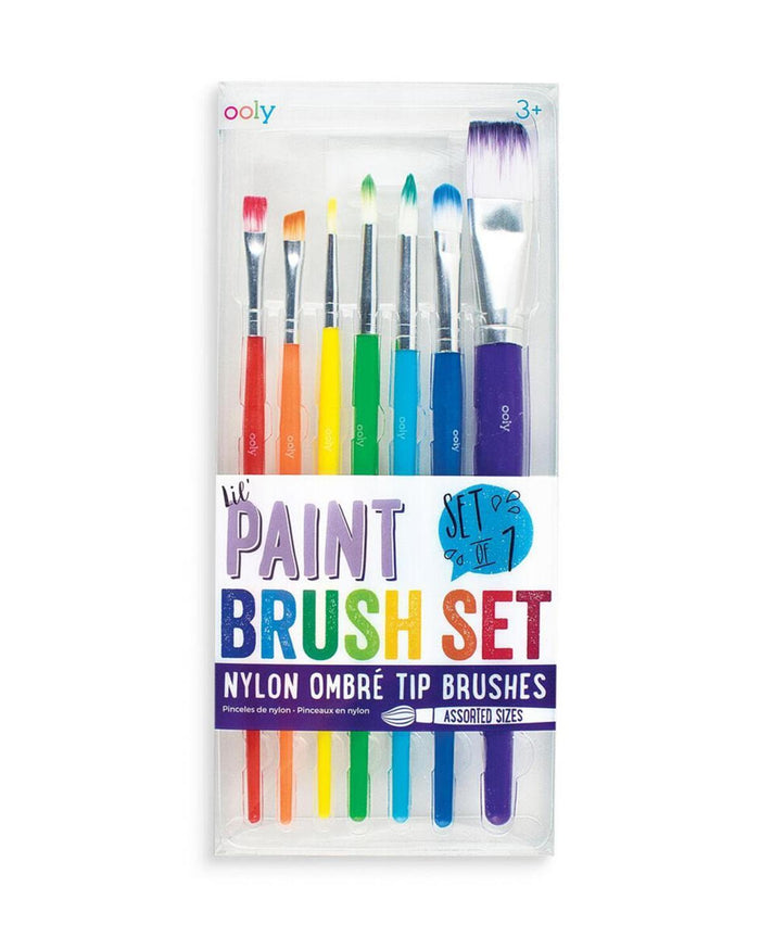 Little ooly play The Brush Works Paintbrush Set