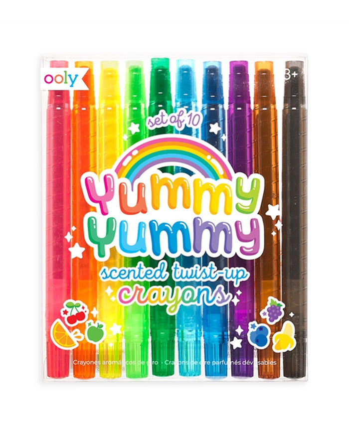 Little ooly play yummy yummy scented twist-up crayons