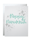 Little parrott design studio paper+party Happy Hanukkah Card
