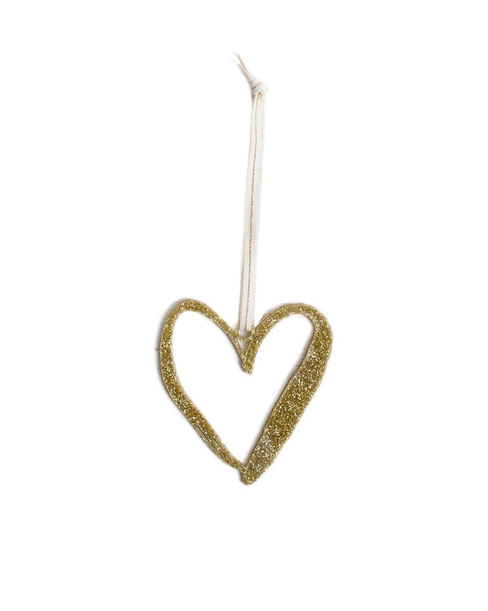 Little parrott design studio room Heart Ornament