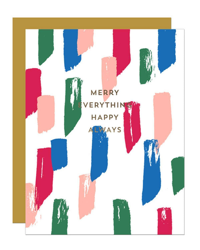 Little parrott design studio paper+party Merry Everything Card