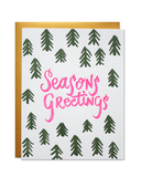 Little parrott design studio paper+party Season's Greetings Card