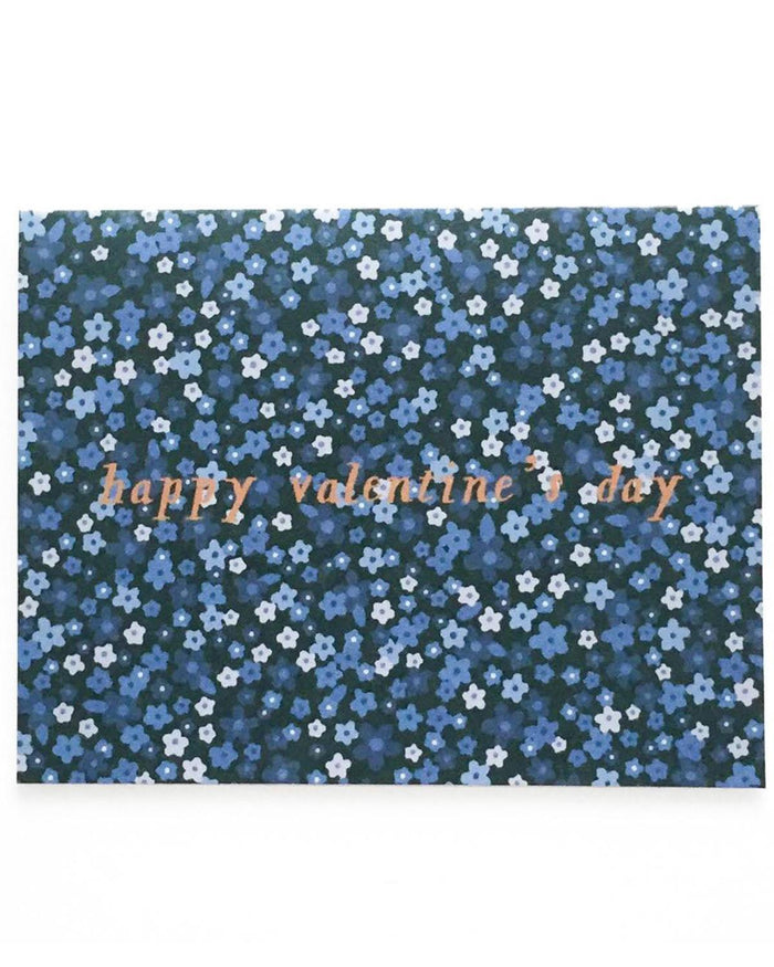 Little paula + waffle paper+party Mini Florals Valentine's Day Card