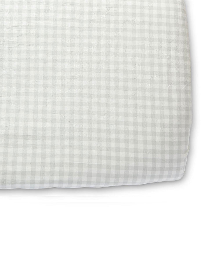 Little pehr designs inc room checkmate crib sheet in fog