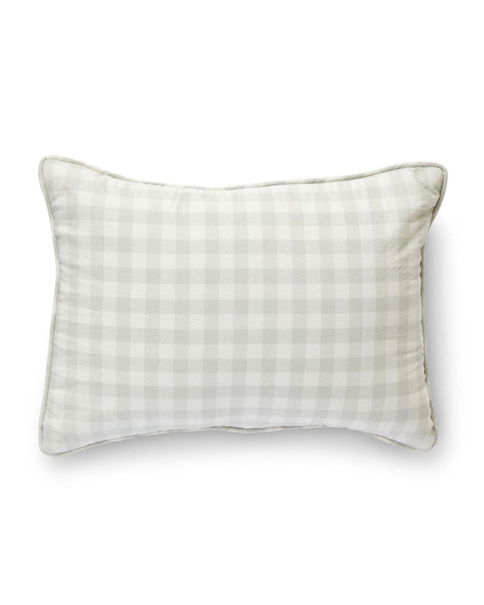 Little pehr designs inc rpp checkmate nursery pillow in fog