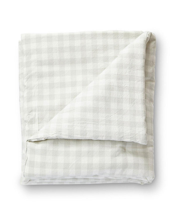 Little pehr designs inc room checkmate toddler blanket in fog