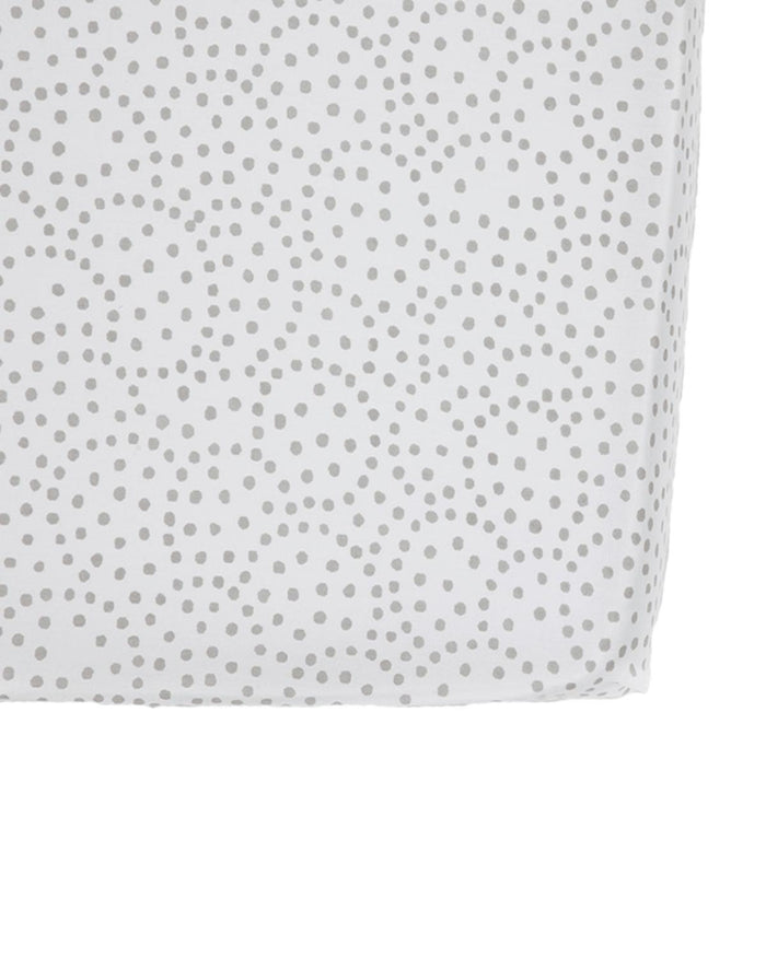 Little pehr designs inc room Grey Dots Crib Sheet