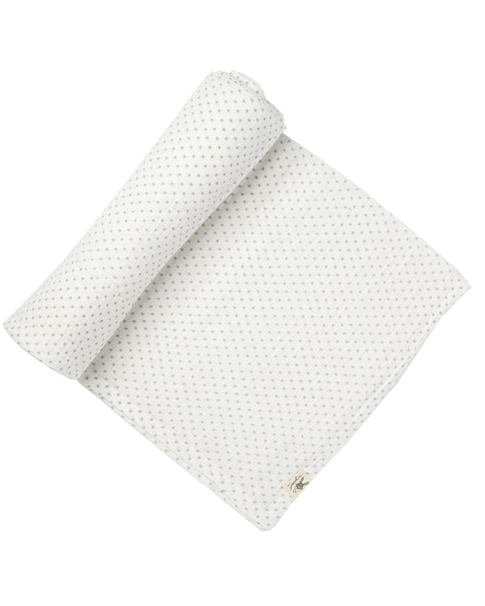Little pehr designs inc baby accessories Grey Pin Dot Swaddle