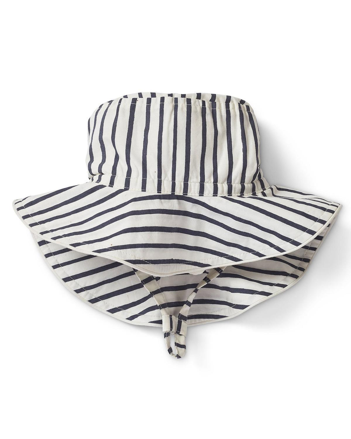 a4c89c28e6bd0 Little pehr designs inc baby accessories 0-6 stripes away bucket hat in ink