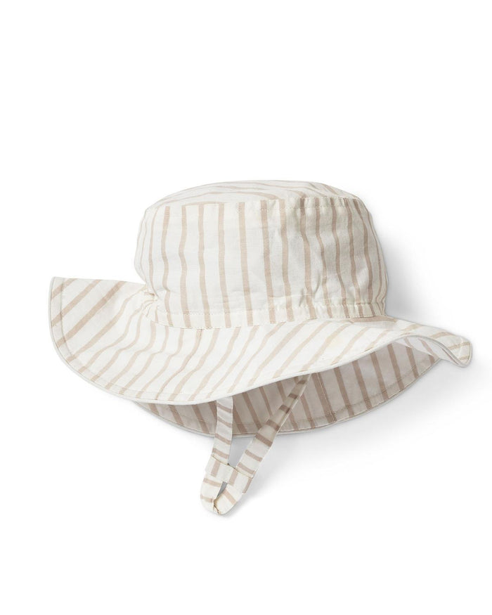 Little pehr designs inc baby accessories 0-6 stripes away bucket hat in petal