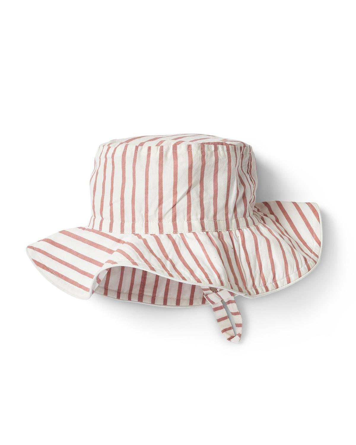 30c92a2d02cd Little pehr designs inc baby accessories 0-6 stripes away bucket hat in pink