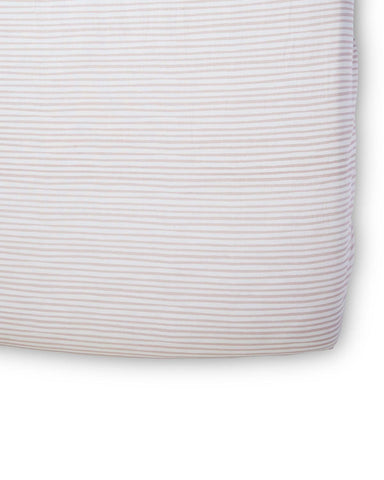Little pehr designs inc room stripes away crib sheet in petal