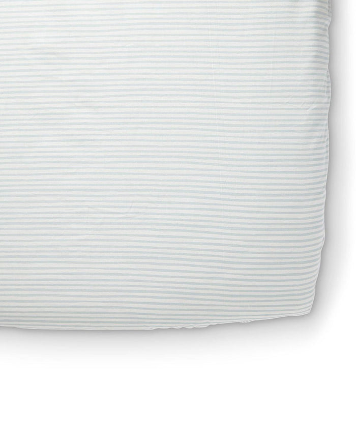 Little pehr designs inc room stripes away crib sheet in sea