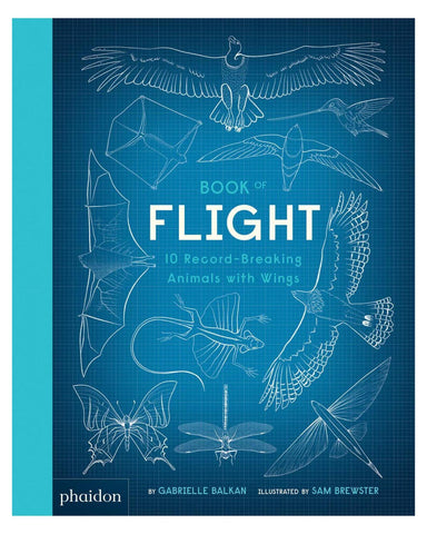 Little phaidon play book of flight: 10 record-breaking animals with wings