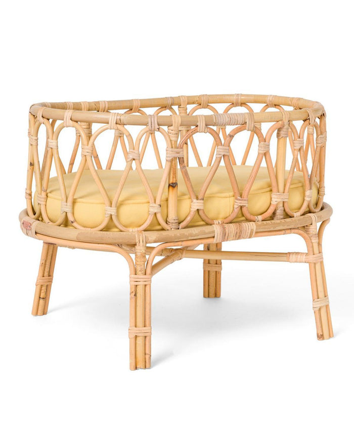 Little poppie toys llc play poppie crib in yellow