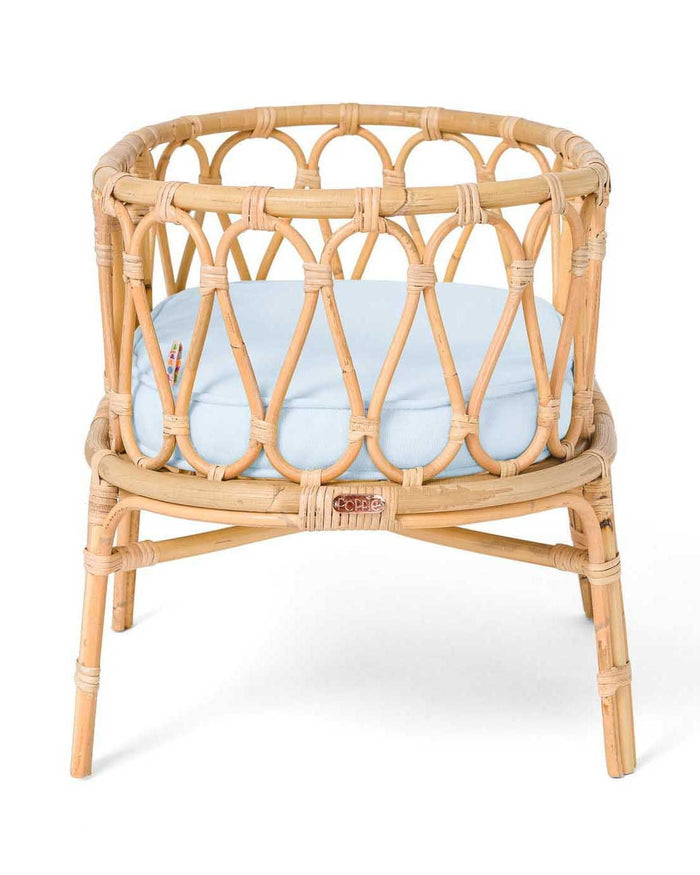 Little poppie toys play poppie crib in baby blue