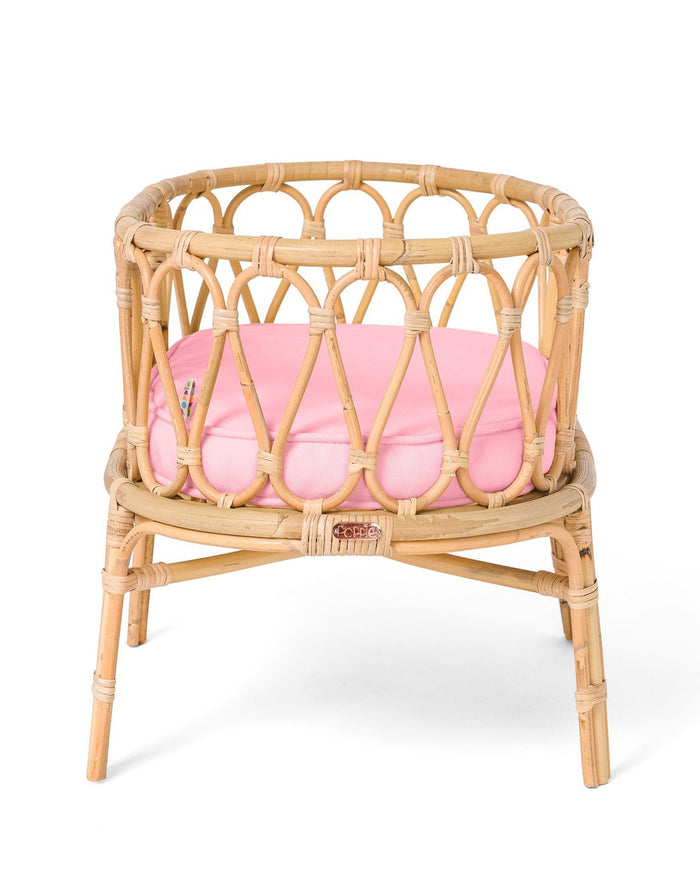 Little poppie toys play poppie crib in pink