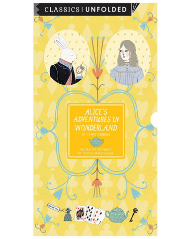 Little quarto publishing group play Alice's Adventures in Wonderland Unfolded